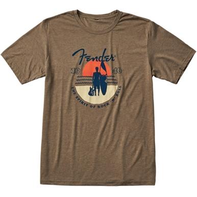 Fender® Sunset Spirit T-Shirt - Olive