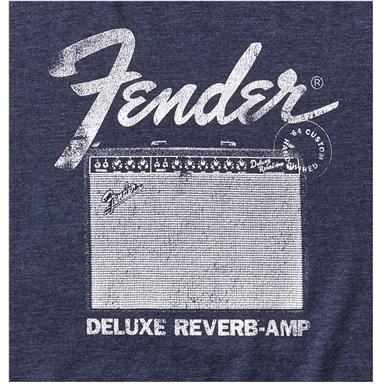 Fender® Deluxe Reverb® T-Shirt - Blue