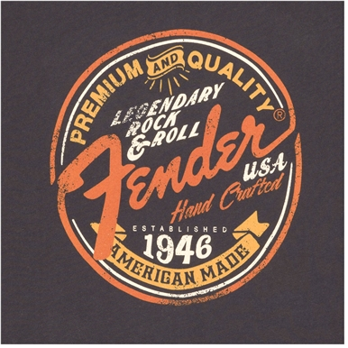 Fender® Women's Open Shoulder T-Shirt - Navy