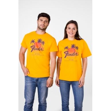 Fender® Palm Sunshine Unisex T-Shirt view 1.0