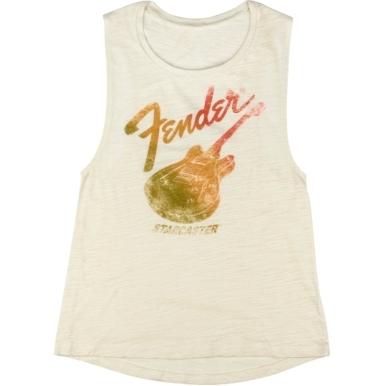 Fender® Starcaster Women's Sleeveless T-Shirt view 1.0