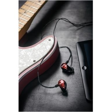 Fender® FXA6 Pro In-Ear Monitors - Red