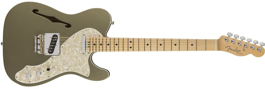 American Elite Telecaster® Thinline - Champagne