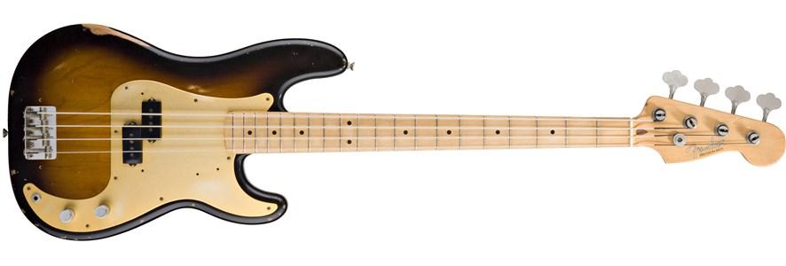 Road Worn® '50s Precision Bass® - 2-Color Sunburst