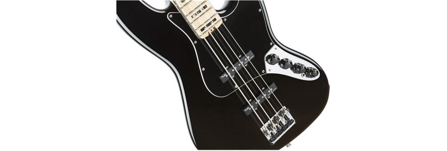 American Elite Jazz Bass® - Black
