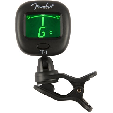 Fender® FT-1 Pro Clip-On Tuner -