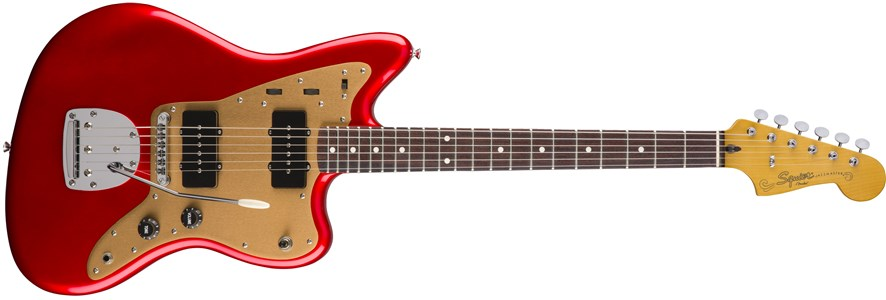 Deluxe Jazzmaster® with Tremolo - Candy Apple Red