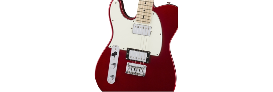 Contemporary Telecaster® HH Left-Handed - Dark Metallic Red