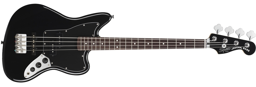 Vintage Modified Jaguar® Bass Special SS (Short Scale) - Black