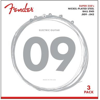 3-Pack Super 250's Nickel-Plated Steel Strings -