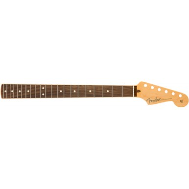 American Channel Bound Stratocaster® Neck, 21 Medium Jumbo Frets - Rosewood -