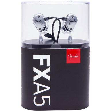 Fender® FXA5 Pro In-Ear Monitors - Silver