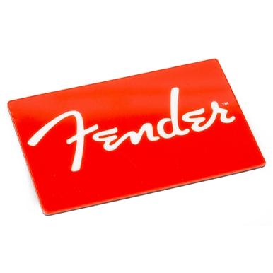 Fender® Red Logo Magnet -