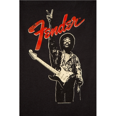 Fender® Jimi Hendrix® Collection Onesie - Black