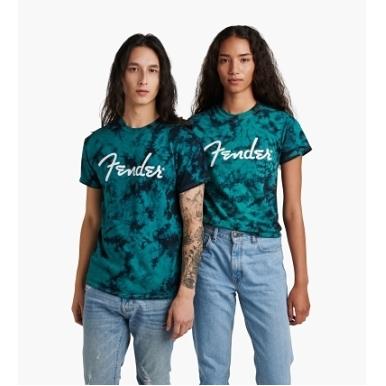 Fender® Tie-Dye Logo T-Shirt view 1.0