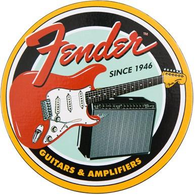 Vintage Guitar and Amp Coaster Set -