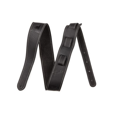 Fender® Monogram Leather Strap - Black
