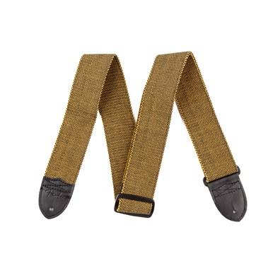 """Fender® """"F"""" Tweed Strap - Tweed"""