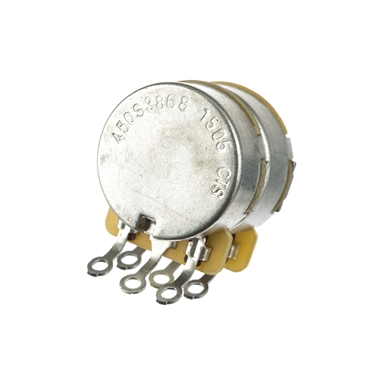 Dual 500K/250K Split Shaft Potentiometer -