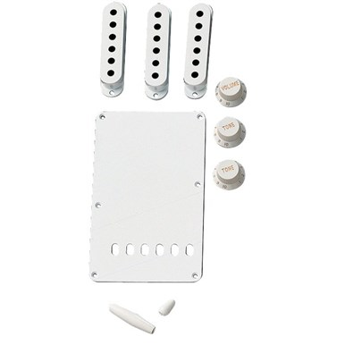 Vintage-Style Stratocaster® Accessory Kit - White view 1.0