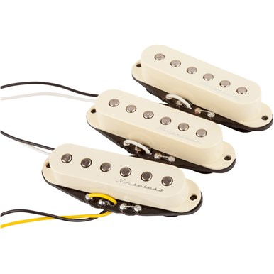 Fender Hot Noiseless™ Strat® Pickups - Aged White