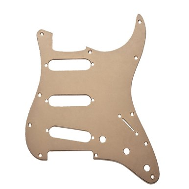 11-Hole Modern 1-Ply Anodized Stratocaster® S/S/S Pickguard view 1.0