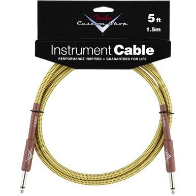 Fender Fender® Custom Shop Cable, 5\', Tweed