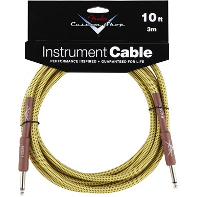 Fender Fender® Custom Shop Cable, 10\', Tweed