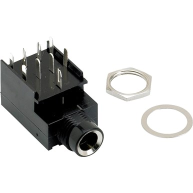 9-Pin Stereo Amplifier Jack view 1.0