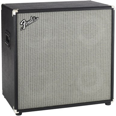 Bassman® 410 Neo Enclosure - Black and Silver