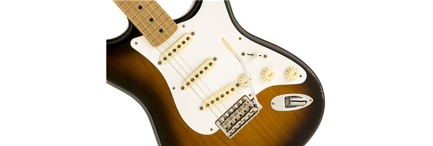 Road Worn® '50s Stratocaster® - 2-Color Sunburst