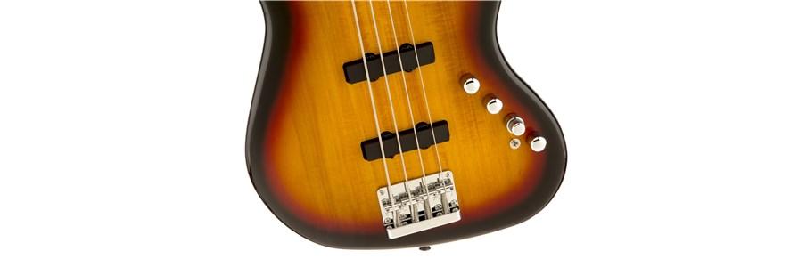 Deluxe Jazz Bass® Active IV - 3-Color Sunburst