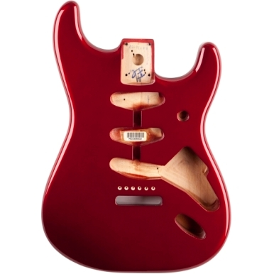 Classic Series 60's Stratocaster® SSS Alder Body Vintage Bridge Mount - Candy Apple Red -