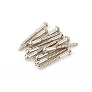 Vintage-Style Strat® Bridge Mounting Screws - Nickel