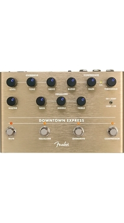 Downtown Express Bass Multi-Effect Pedal -