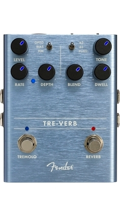 Tre-Verb Digital Reverb/Tremolo -