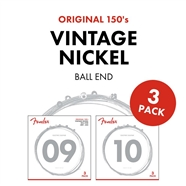 Original Pure Nickel 150 Guitar Strings - 3-Pack -