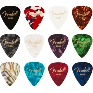 351 Celluloid Medley, (12) Picks - Multi-Color