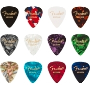 351 Celluloid Medley, (12) Picks - Multi-Color