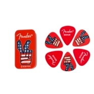 Limited-Edition Peace Sign Pick Tin (6) -