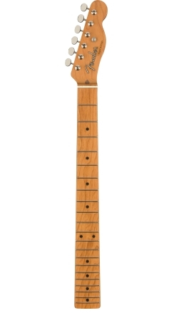 """Limited Edition American Vintage Telecaster Roasted Maple Neck, 21 Vintage Tall Frets, 7.25"""" Radius w/Tuners -"""