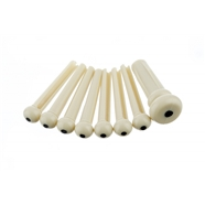 Acoustic Bridge Pin Sets - Ivory
