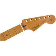 "Roasted Maple Stratocaster® Neck, 22 Jumbo Frets, 12"", Maple, Flat Oval Shape -"