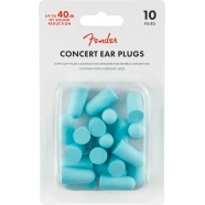 Concert Ear Plugs (10 Pair), Daphne Blue -