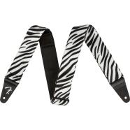 Wild Animal Print Straps - Black/White
