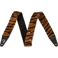 Wild Animal Print Straps - Black/Orange