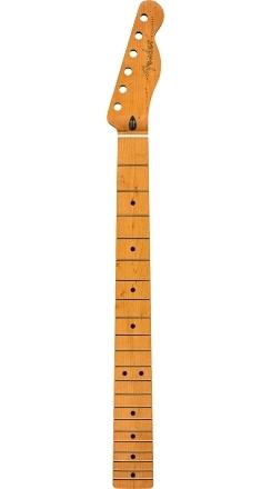 "Roasted Maple Telecaster® Neck, 21 Narrow Tall Frets, 9.5"", Maple, C Shape -"