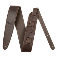 "Fender® Artisan Crafted Leather Straps - 2.5"" - Brown"