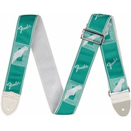 "2"" Custom Color Fender® Monogrammed Straps - Sea Foam Green"