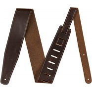 """2.5"""" Leather Strap - Brown"""